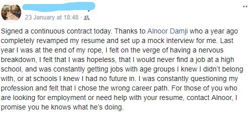 Looking for a job? - IamAlnoor | Alnoor Damji | Career Coaching Calgary